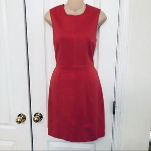 Trina Turk Salmon Stretchy Sheath Dress